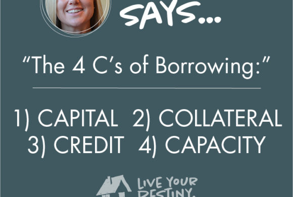 The 4 C's of Borrowing