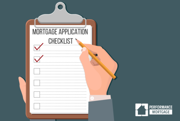 Infographic: Mortgage Application Checklist