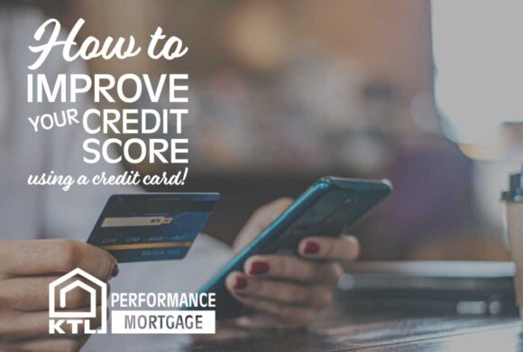 How to improve your credit score (using a credit card)!