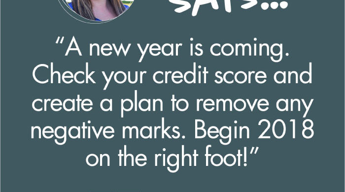 Credit Planning for the New Year