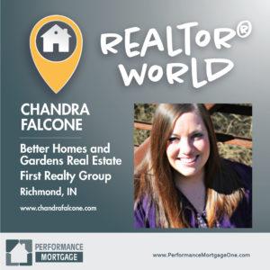 Realtor World Guest Post: Chandra Falcone | Performance Mortgage