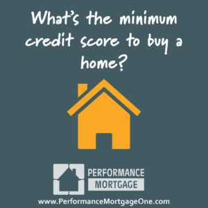 Minimum Credit Score for Home Loan