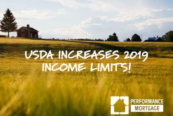 USDA Increases Income Limits for 2019